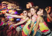 Full Moon Party v Thajsku